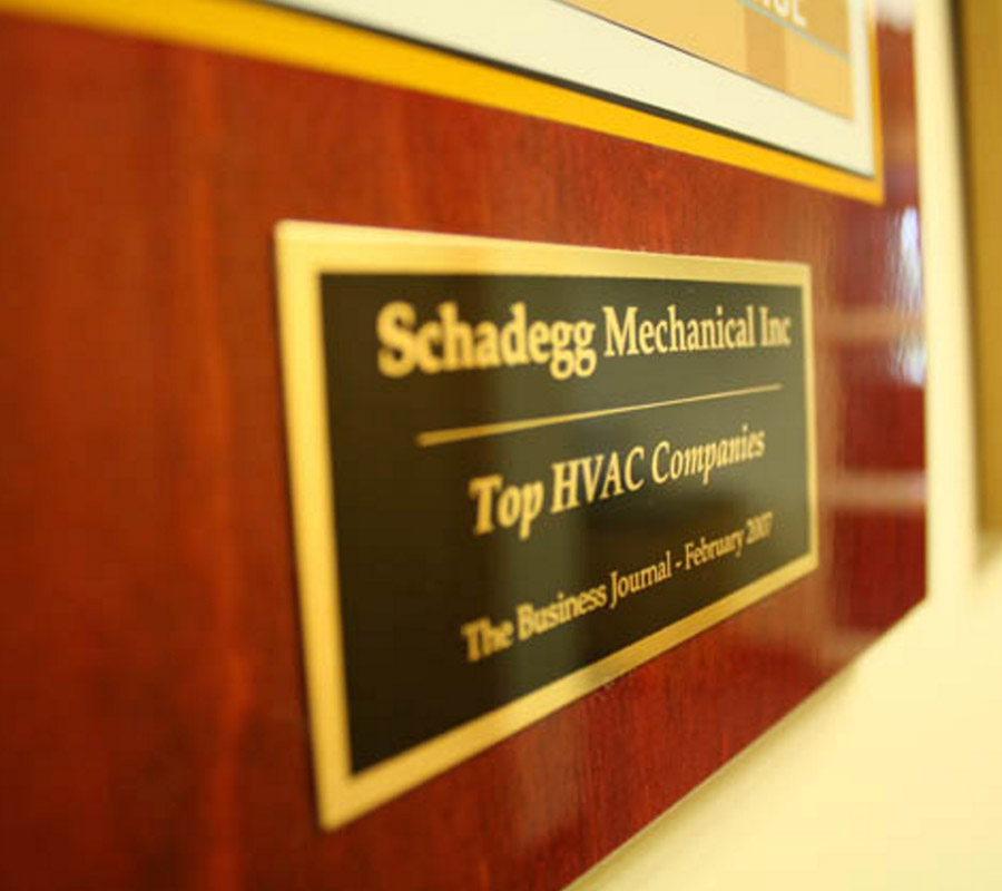 Schadegg Mechanical - Top HVAC companies - The Business Journal
